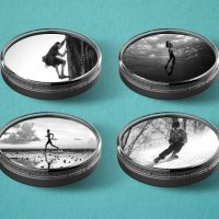 Athlete photos in Kudos Coaster Plus