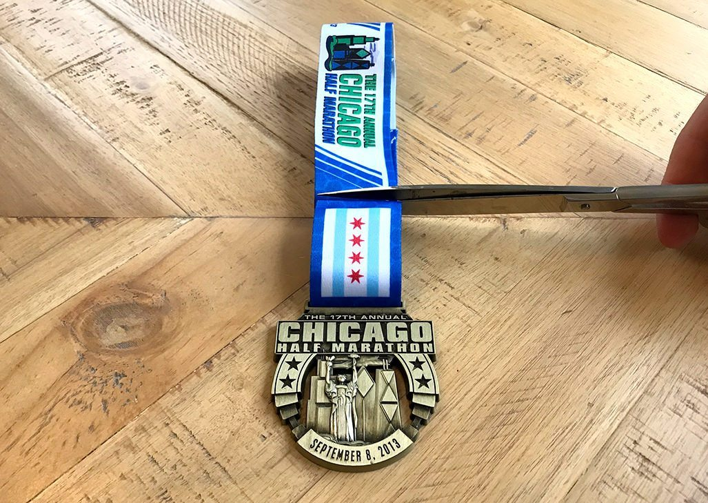 Marathon Medal Display