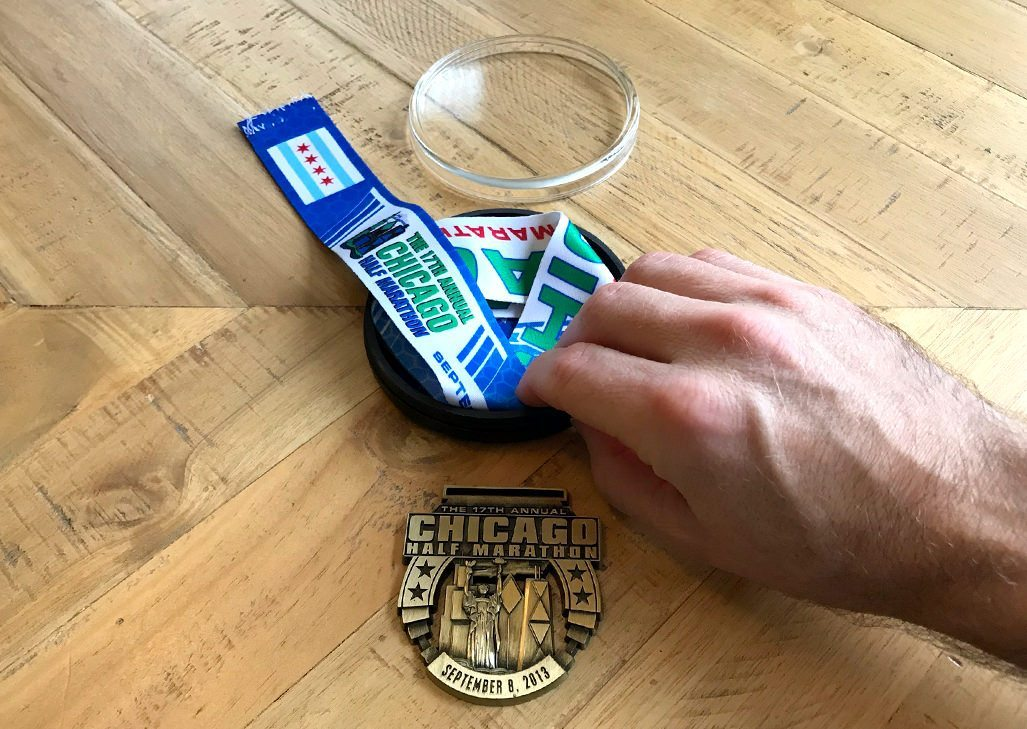 Finisher Medal Holder