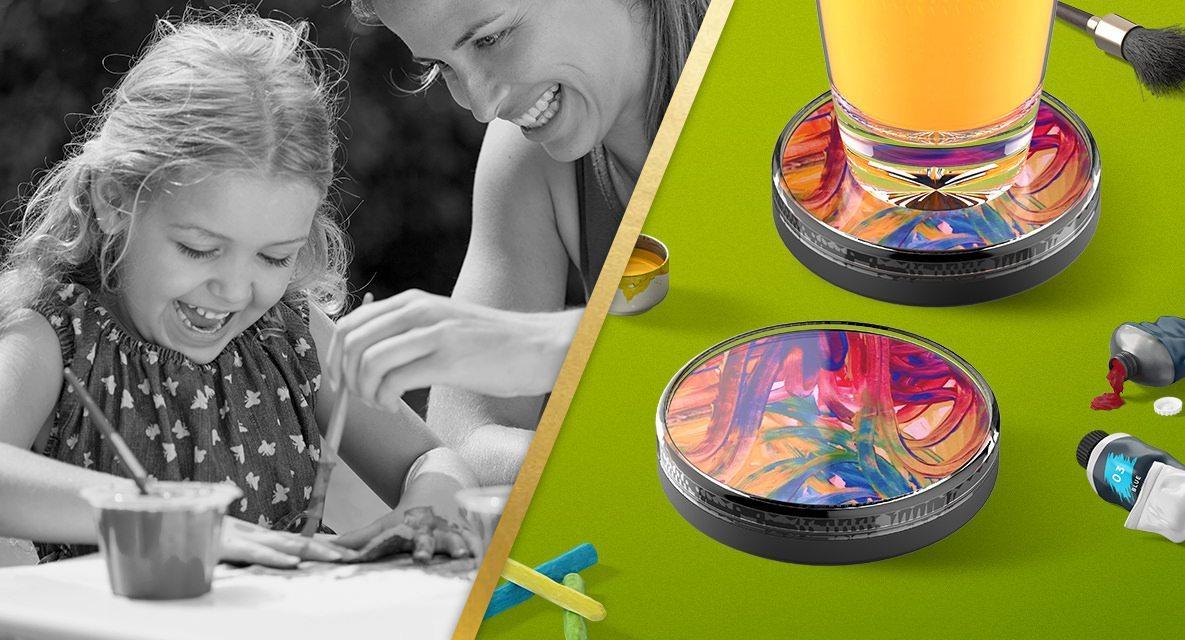 Crafters Display Kids Artwork