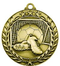 Athletes Sports Medals Soccer