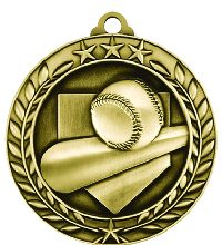 Athletes Sports Medals Baseball