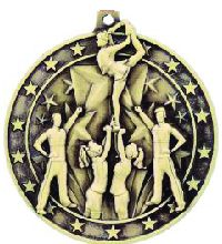Athletes Sports Medals Cheerleading