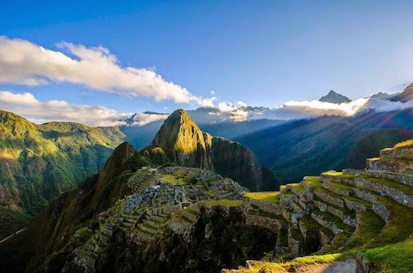 Road race at Machu Picchu