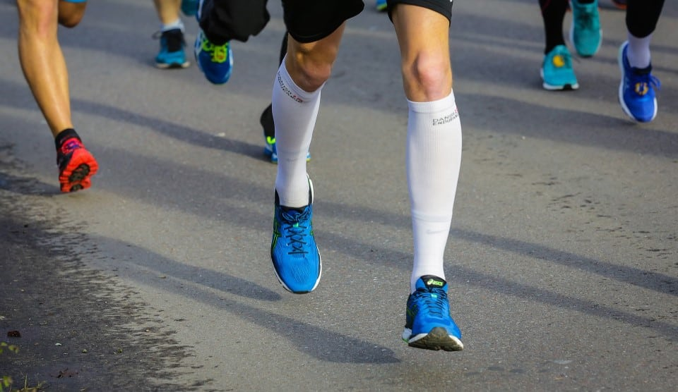 Ever experience pain, tightness or cramps in your legs? Read how compression can help.