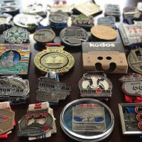 """What an awesome way to keep the memories and re-purpose race medals!"" -Ryan C."