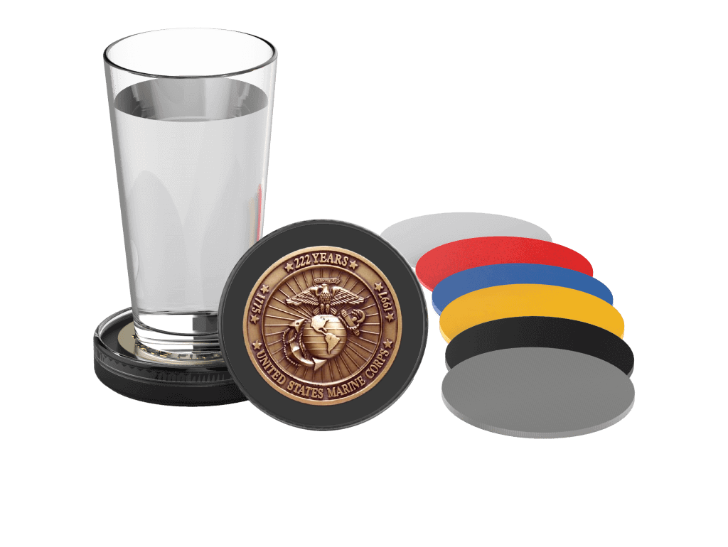 Challenge Coin Holder Digital