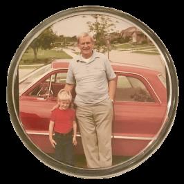 Childhood Memories Photo Coaster
