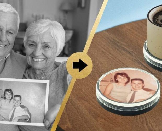 DIY Photo into Coaster