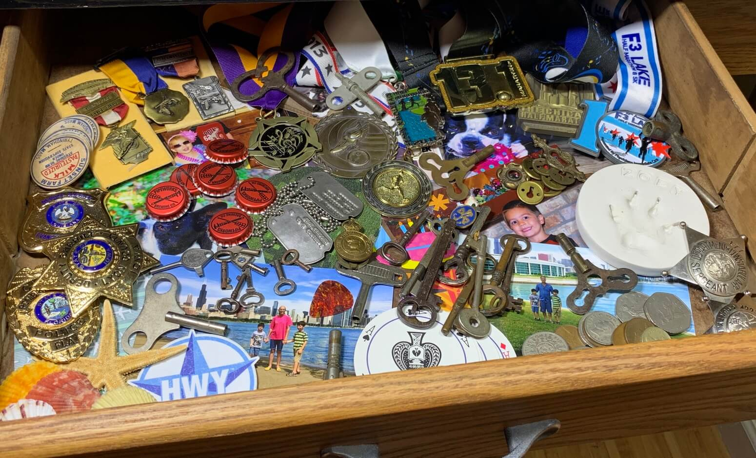 Drawer Full of Treasures to Display