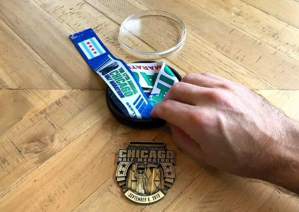Make a Running Medal Holder