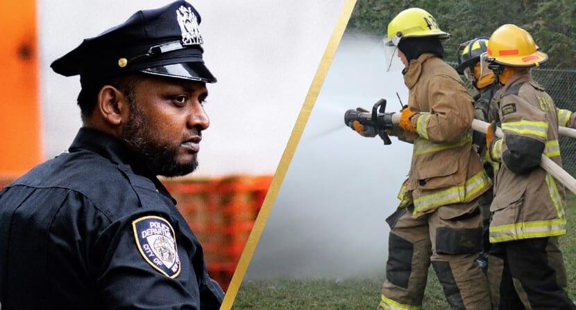 Policeman & Firemen