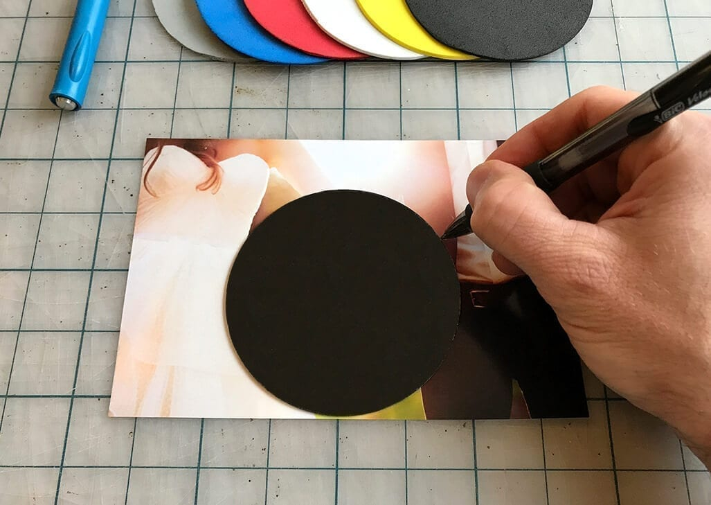 DIY Photo Coasters Step 2