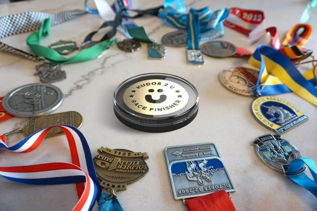 Running Medal Display Case