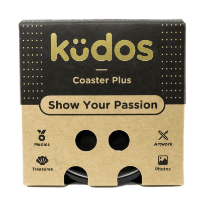 Kudos Coaster Plus display case small