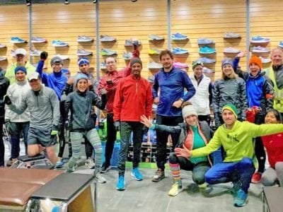 Running Store Group Run