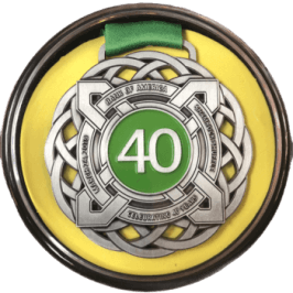 Display Shamrock Shuffle Medal