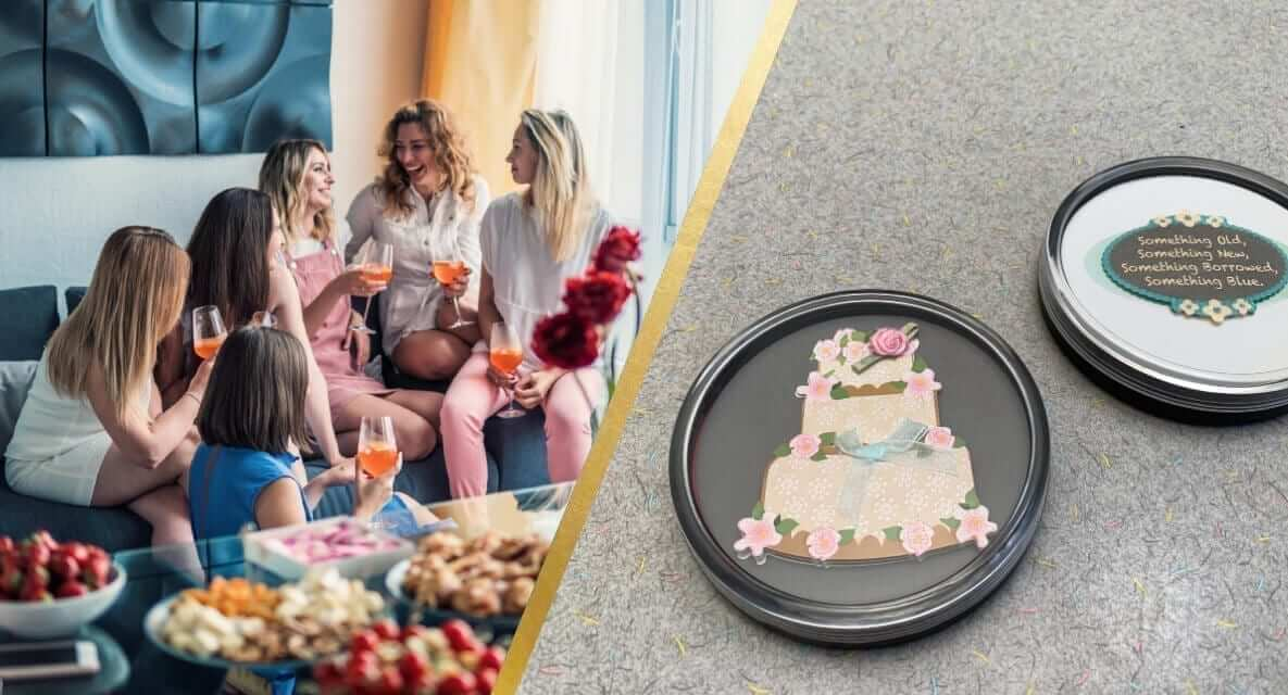 Wedding Bridal Shower DIY Crafts