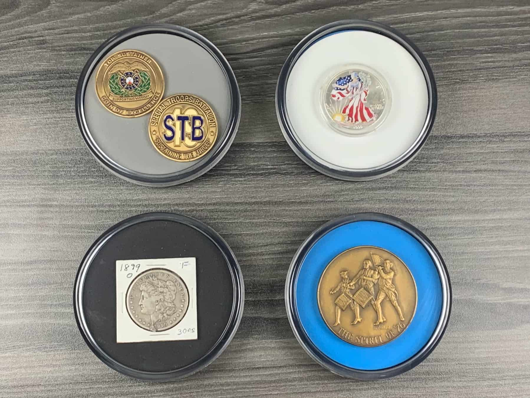 Coin Coasters